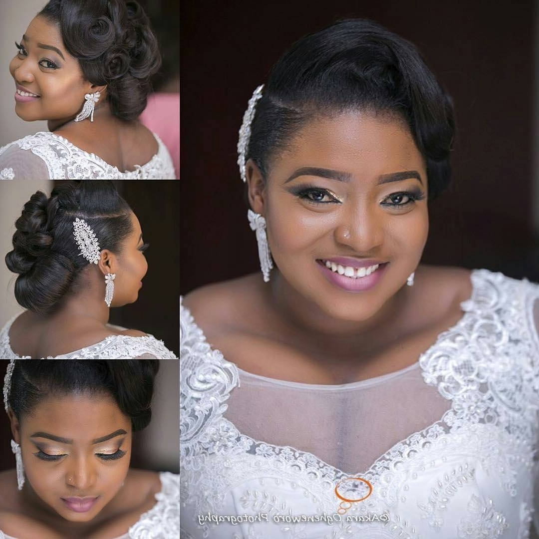 Latest Wedding Hairstyles For Nigerian Brides Inside 16 Gorgeous Wedding Hairstyles For Nigerian Brideshair Stylist (View 3 of 15)