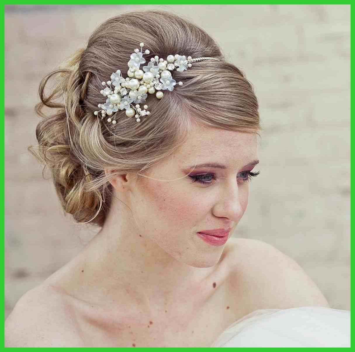 Latest Wedding Hairstyles For Shoulder Length Hair With Veil With Shocking Wedding Hairstyles For Long Hair Updo With Veil The Big (View 10 of 15)