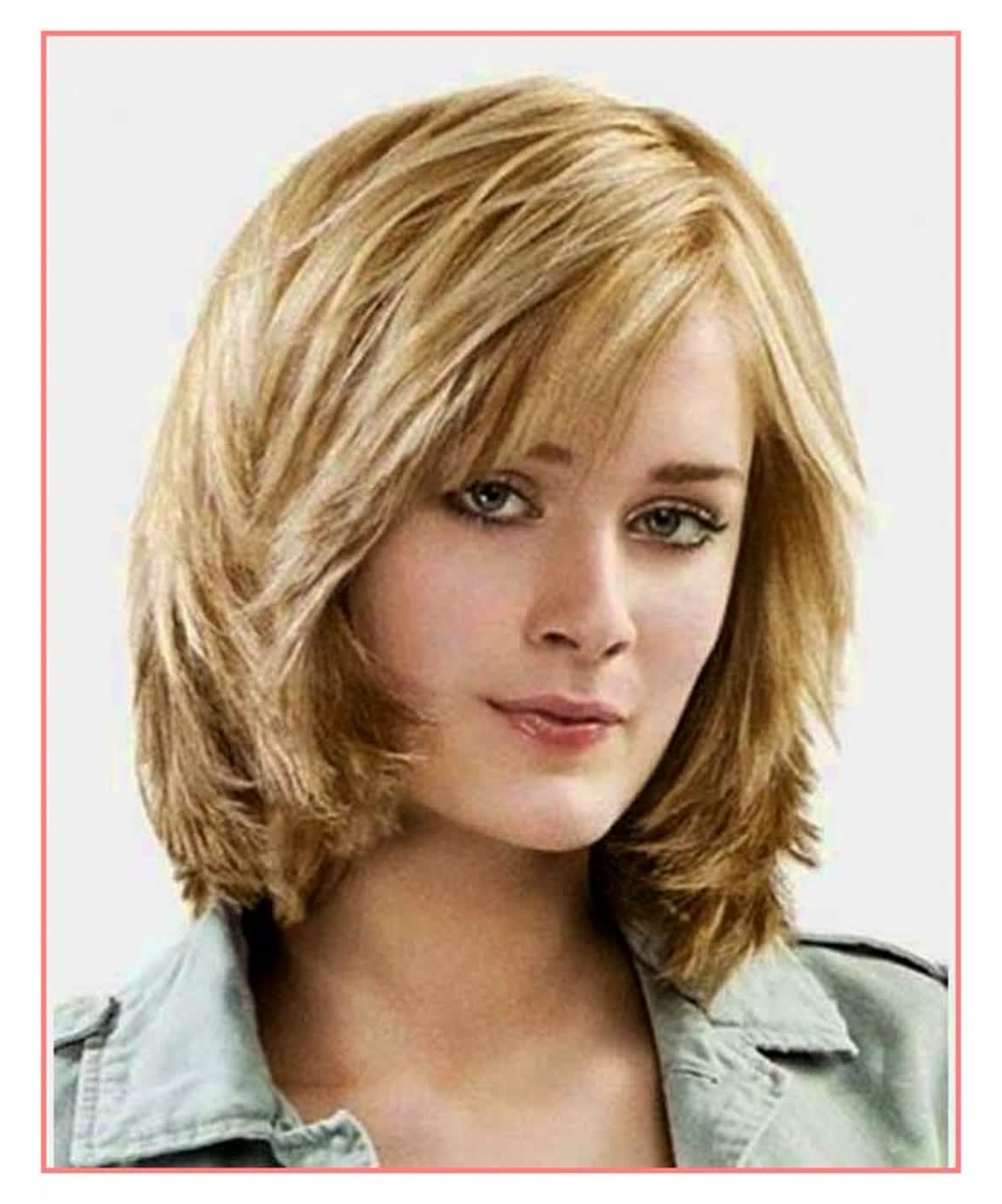 Latest Wedding Hairstyles For Shoulder Length Layered Hair Intended For Awesome Hairstyles Medium Length Layered Wedding Hairstyles – Best (View 12 of 15)