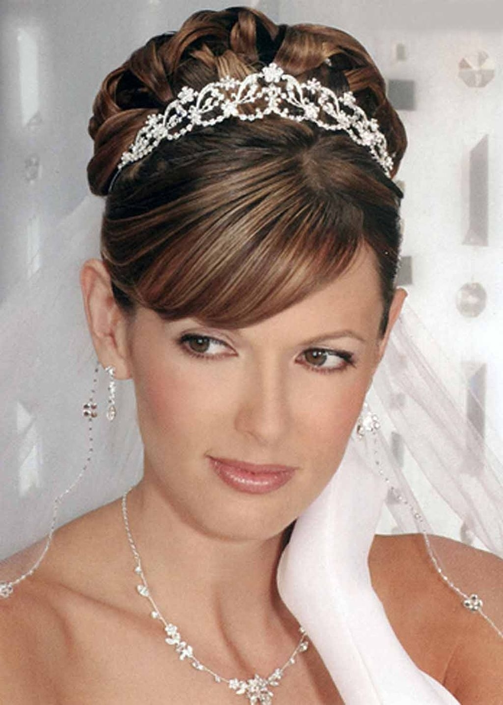 Latest Wedding Hairstyles On Short Hair Inside Stunning Wedding Hairstyles For Short Hair 18 For Your Inspiration (View 10 of 15)