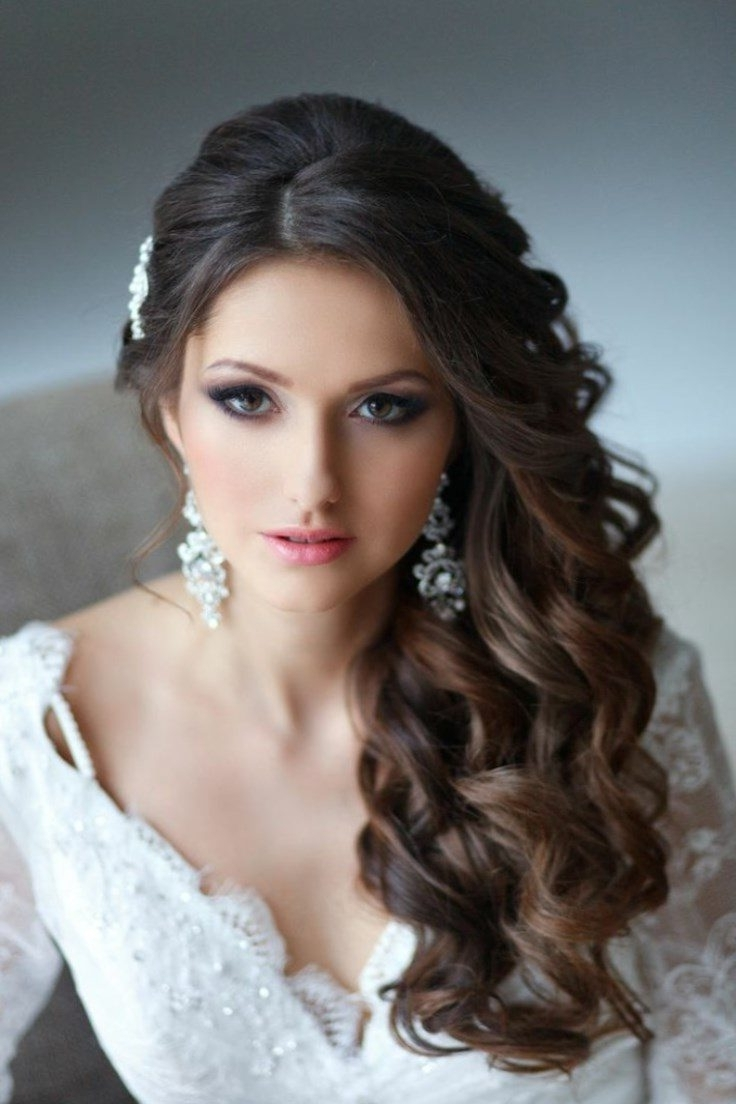 Latest Wedding Hairstyles On The Side With Curls With Your Guide To The Best Hairstyles – New Ideas For (View 4 of 15)