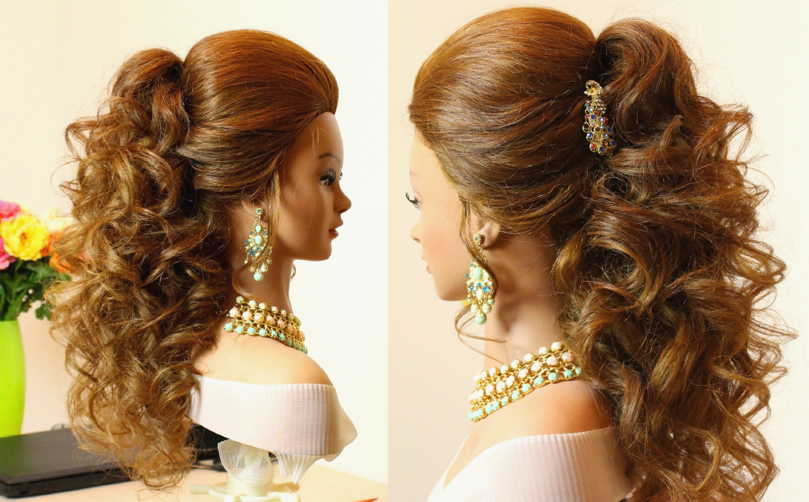 Learn All About Wedding Hairstyles For Curly Long Hair From For Trendy Put Up Wedding Hairstyles For Long Hair (View 3 of 15)