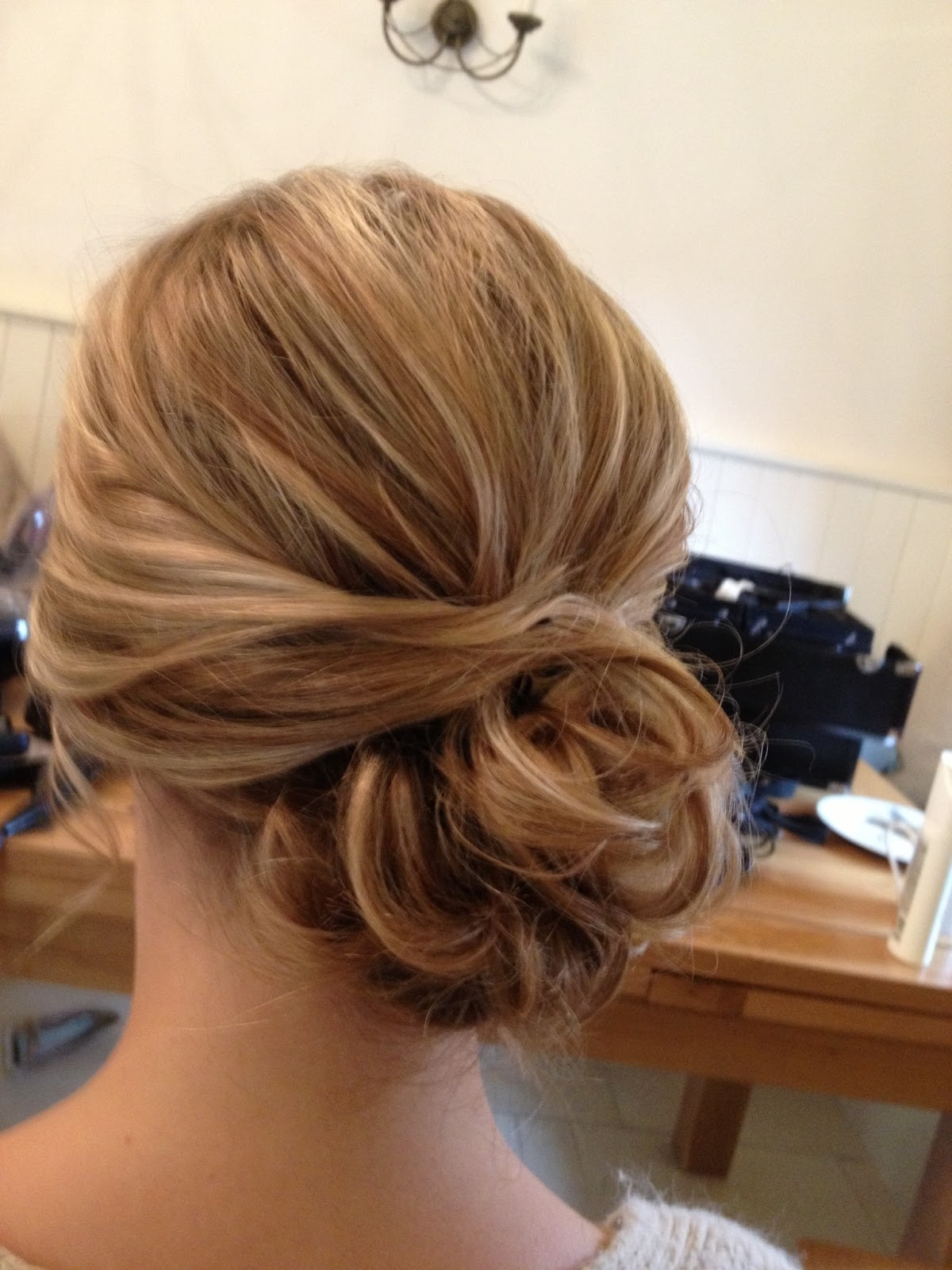 Low Bun Wedding Hairstyle (View 6 of 15)
