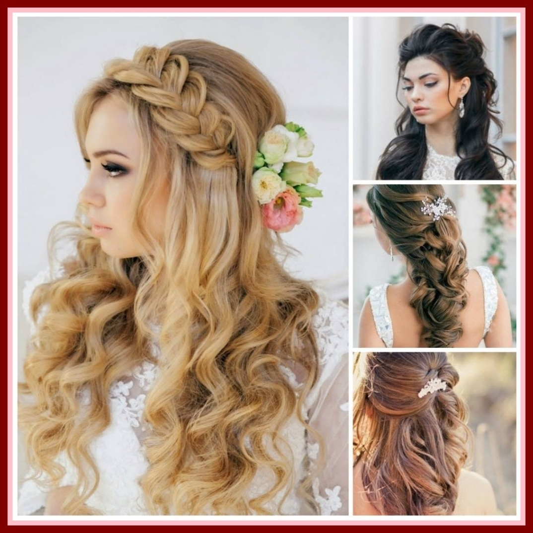 Marvelous Best Wedding Hairstyles For Shoulder Length Hair Bridal Of Pertaining To Best And Newest Hairstyles For Medium Length Hair For Wedding (View 13 of 15)