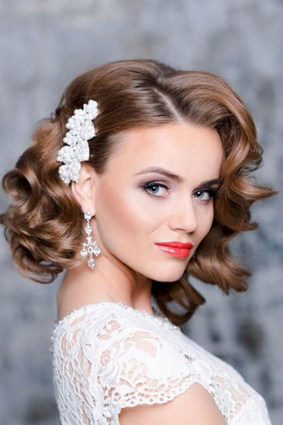 Marvelous Bridesmaid Hairstyle Short Hair U Oosile Of For Styles And Throughout Most Popular Wedding Hairstyles For Short Hair For Bridesmaids (Gallery 6 of 15)