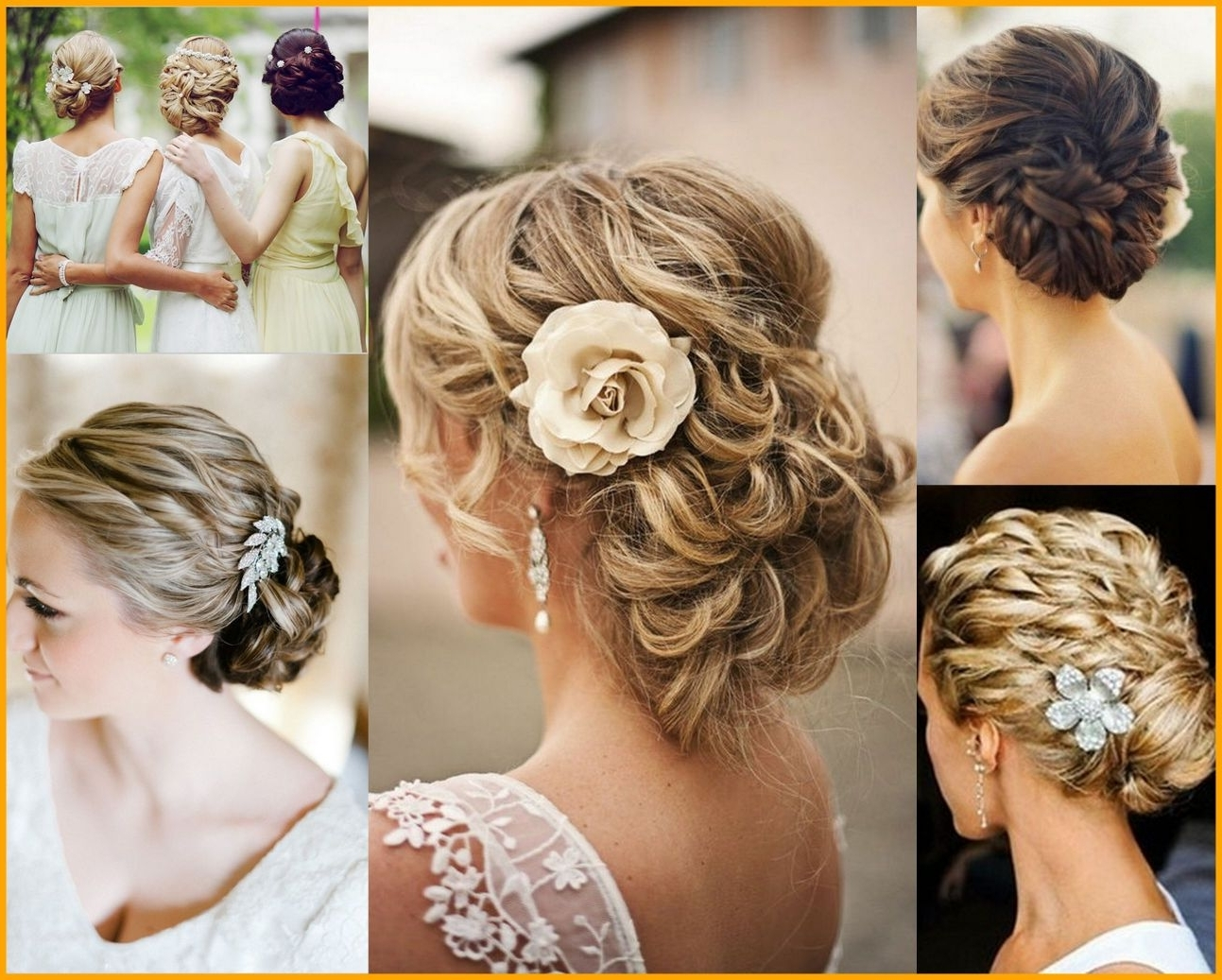 Marvelous Country Wedding Hairstyles For Bridesmaids Ideas Picture Regarding Latest Country Wedding Hairstyles For Bridesmaids (View 2 of 15)