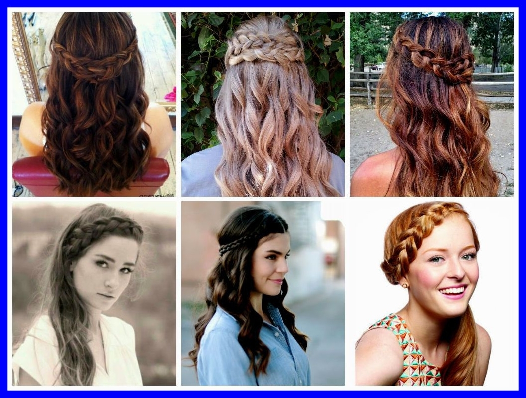 Marvelous Wedding Hairstyles Half Up Down With Braid Theme Of Style With Regard To Most Current Half Up Half Down With Braid Wedding Hairstyles (View 3 of 15)