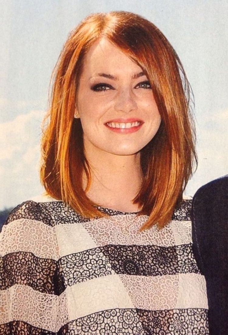 Medium Length Haircut For Round Face New Hairstyle 2014 Medium In Fashionable Wedding Hairstyles For Round Face With Medium Length Hair (View 6 of 15)