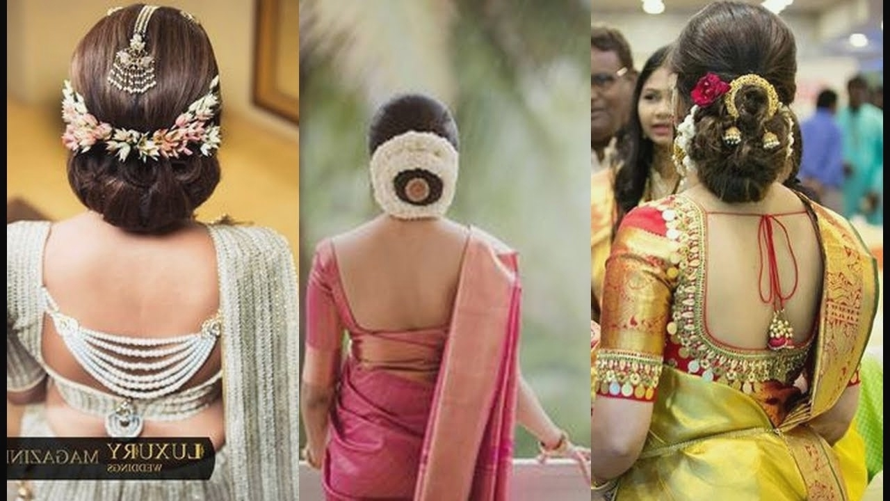 Model Indian Bridal Hairstyle Most Popular – Visit To Reads Pertaining To Most Popular North Indian Wedding Hairstyles For Long Hair (View 3 of 15)