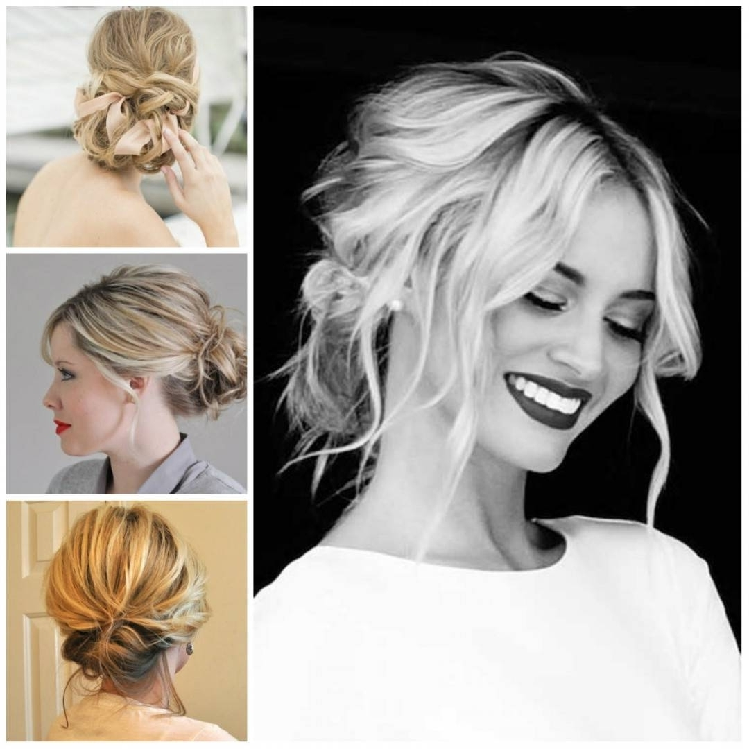 Modern Wedding Hairstyles For Medium Length Hair – Hairstyle With Regard To Latest Modern Wedding Hairstyles (View 12 of 15)