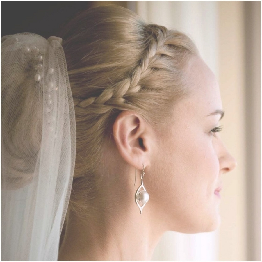 Modern Wedding Hairstyles With Tiara And Veil – Wedding Party (View 9 of 15)