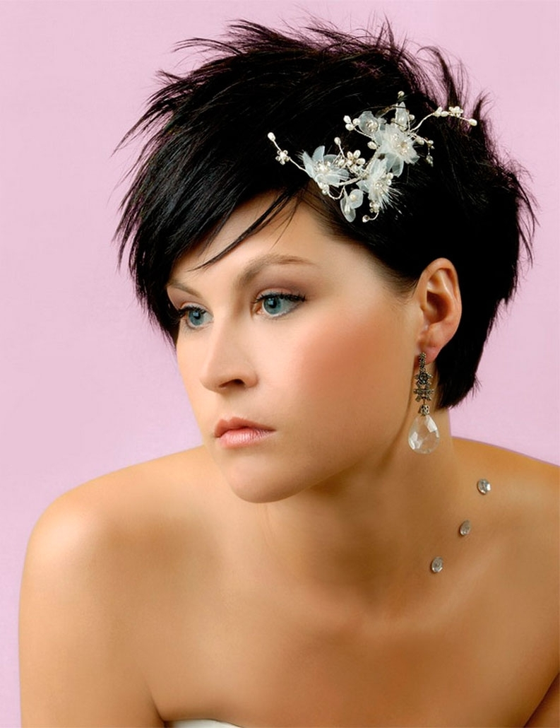 Most Current Beach Wedding Hairstyles For Short Hair Throughout Short Hairstyles For A Wedding 01 – Latest Hair Styles – Cute (View 10 of 15)