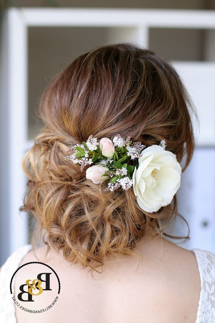 Most Current Casual Wedding Hairstyles Pertaining To 452 Best Bridal Hair – Casual Up Do's Images On Pinterest (View 14 of 15)