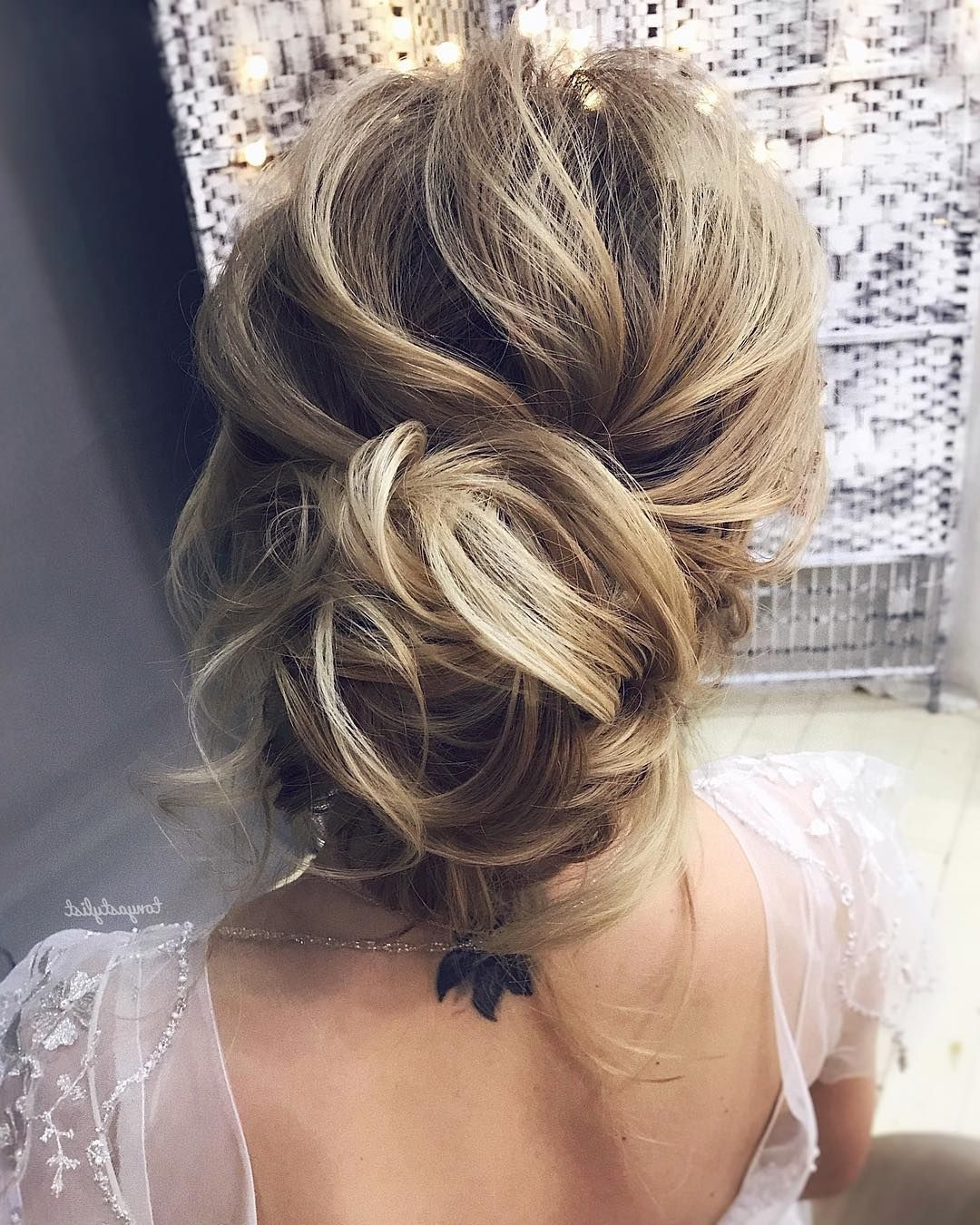 Most Current Messy Wedding Hairstyles Pertaining To 79 Beautiful Bridal Updos Wedding Hairstyles For A Romantic Bridal (View 7 of 15)