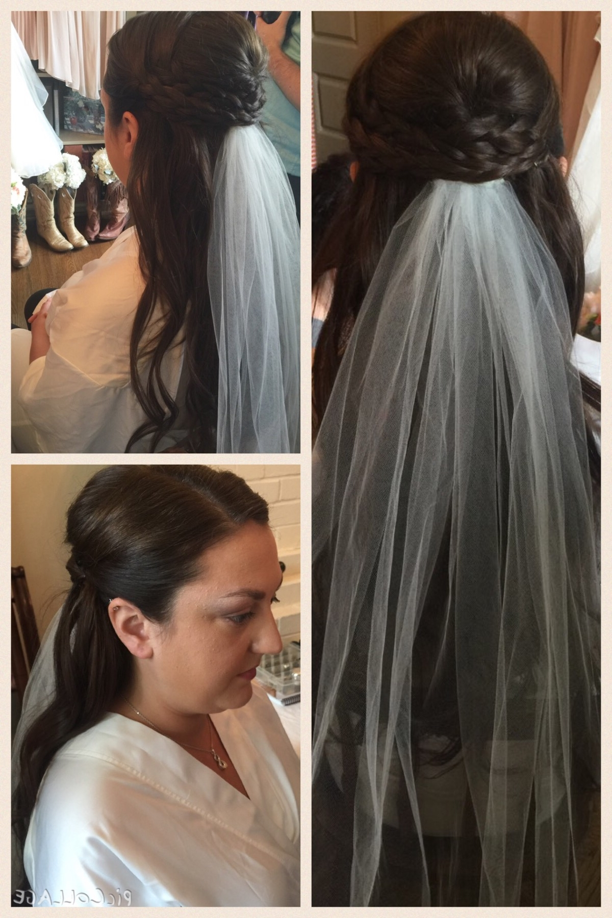 Most Current Part Up Part Down Wedding Hairstyles Inside Amusing Half Up Half Down Side Wedding Hairstyles In Wedding Hair (View 9 of 15)