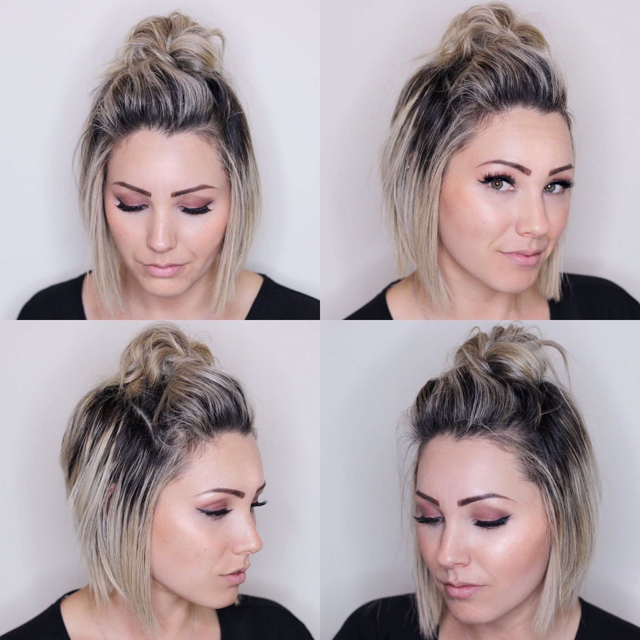 Most Current Simple Wedding Hairstyles For Bridesmaids Within Simple Bridesmaid Hairstyles For Short Hair Inspirational Top Knot (View 6 of 15)