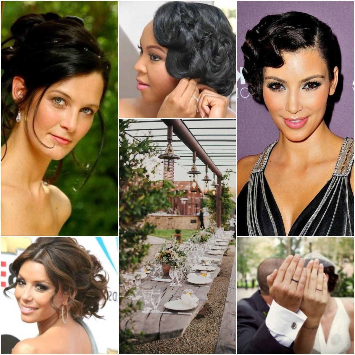 Most Current Wedding Hair For Black Bridesmaids Pertaining To Gorgeous Wedding Hairstyles For African American Brides Pictures (View 5 of 15)