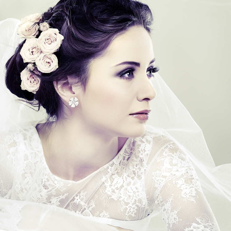 Most Current Wedding Hairstyles And Makeup Throughout Best Winter Wedding Makeup Ideas On Pinterest Theme Inspiring (View 6 of 15)