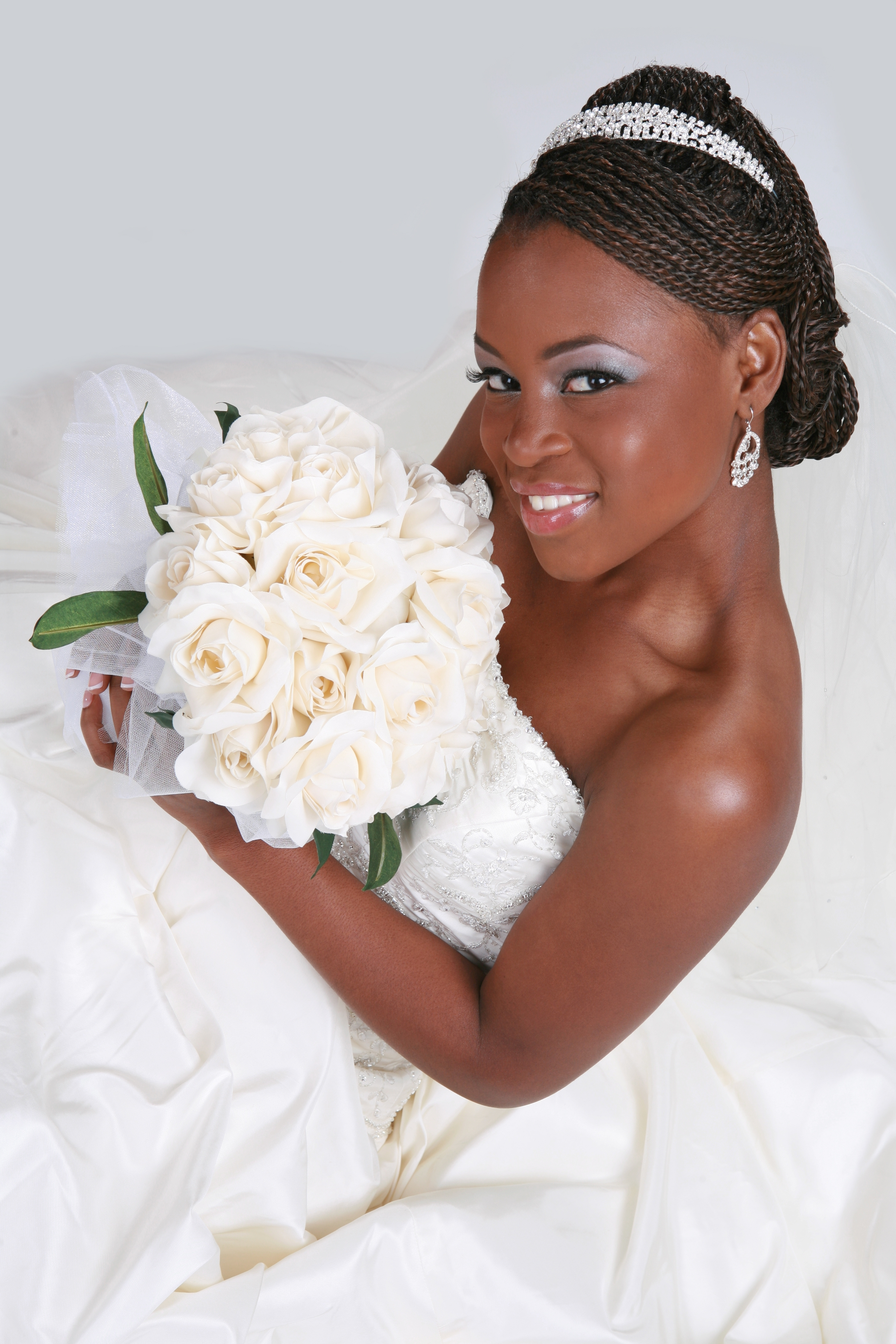 Most Current Wedding Hairstyles For African American Brides With Regard To Wedding Hairstyles For African American Brides (View 14 of 15)