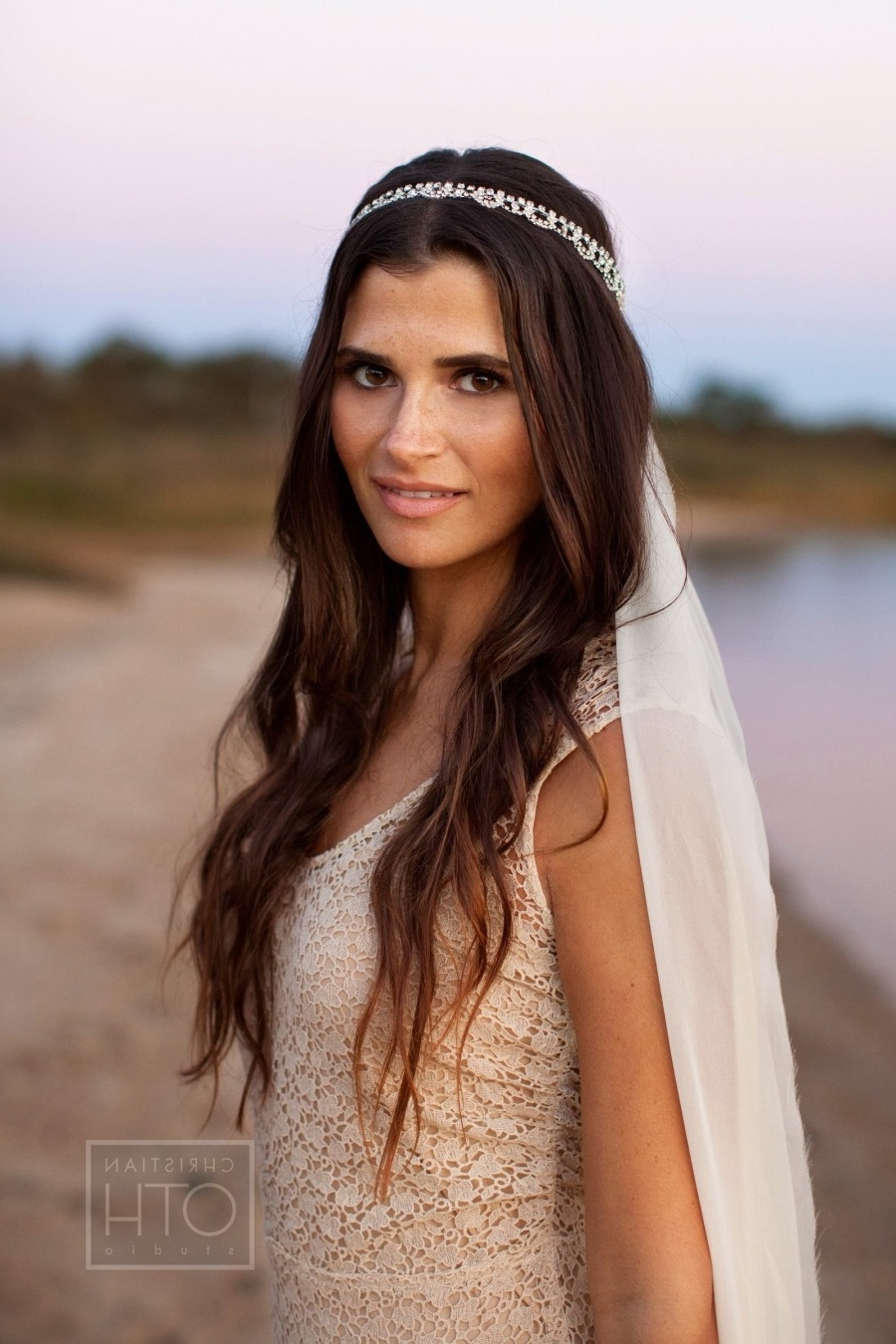 Most Current Wedding Hairstyles For Long Straight Hair With Veil Throughout All You Need To Know About Wedding Hairstyles — Wedpics Blog (View 3 of 15)