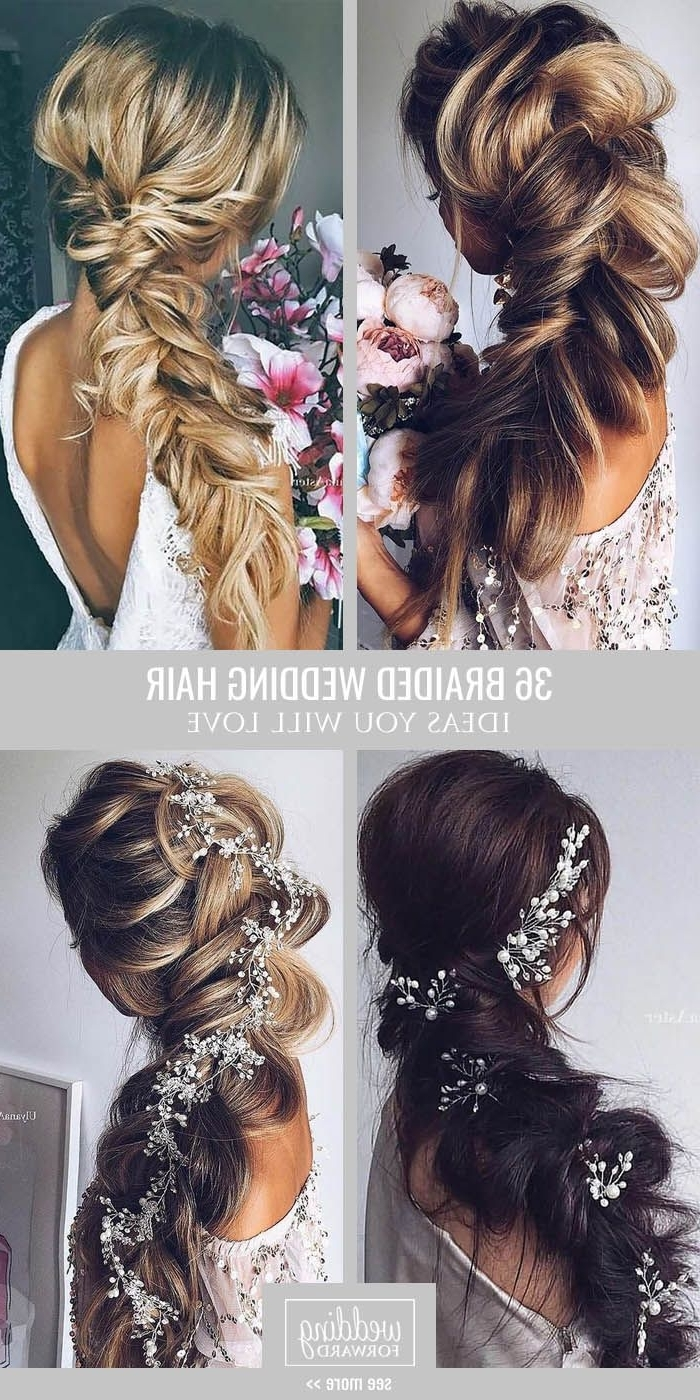 Most Current Wedding Hairstyles With Braids With 39 Braided Wedding Hair Ideas You Will Love (View 4 of 15)
