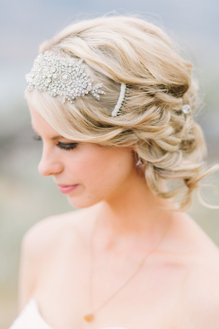 Most Current Wedding Hairstyles With Headpiece In British Columbia Wedding From The Nickersons (View 7 of 15)