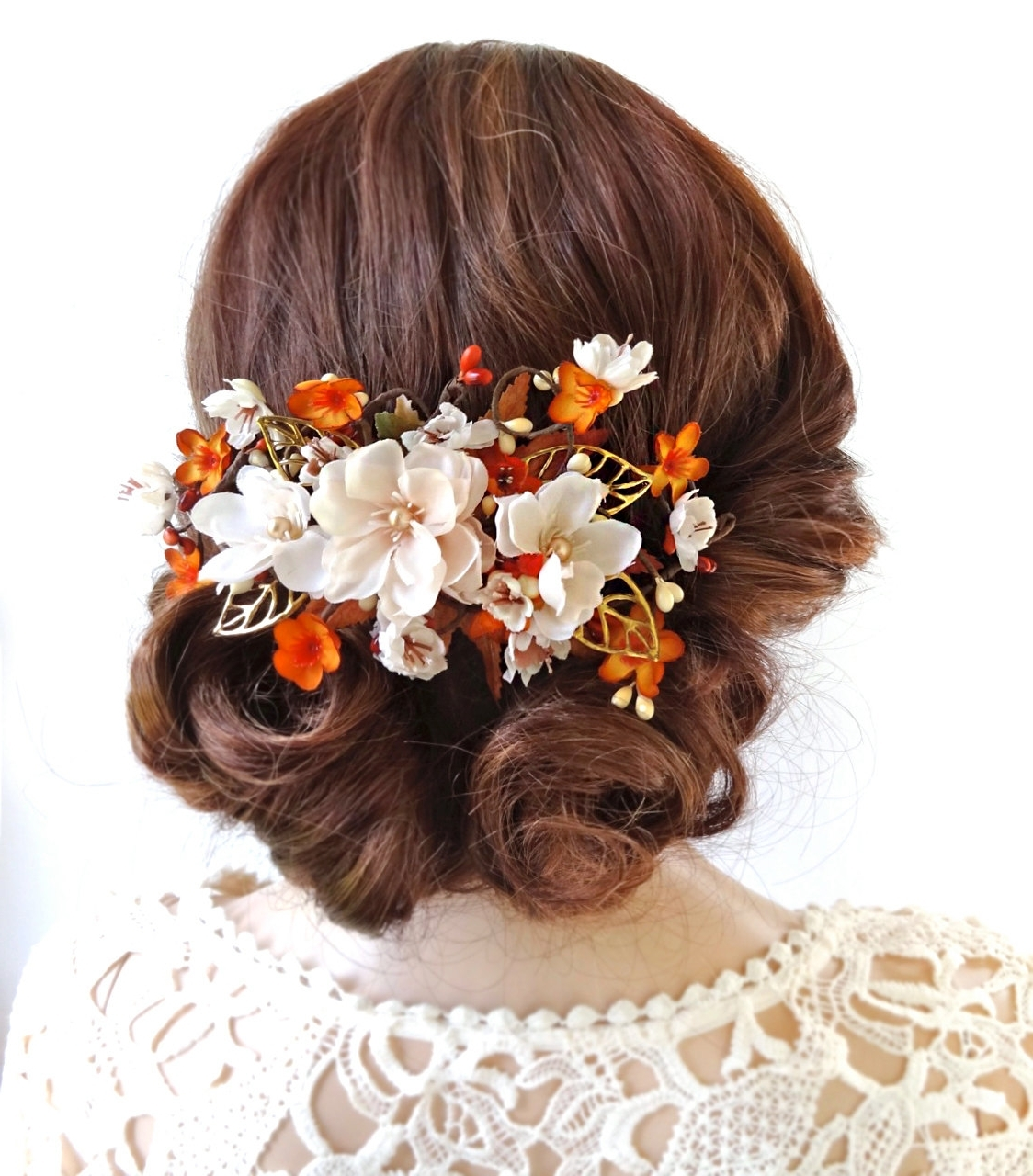 Most Current Wedding Hairstyles With Sunflowers Throughout Wedding Hair For Fall And Winter – The Original Mane 'n Tail (View 13 of 15)