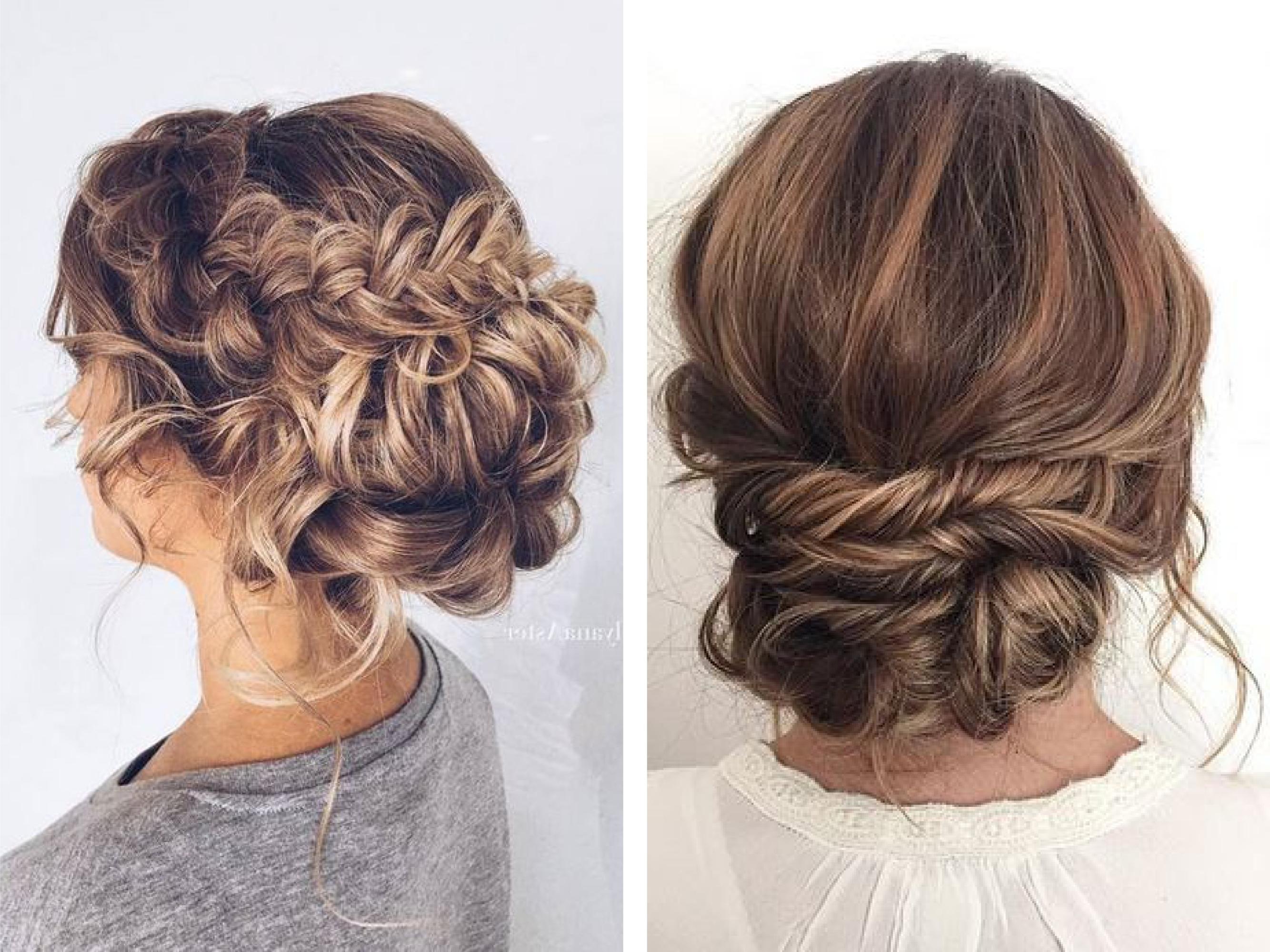 Most Current Wedding Night Hairstyles In Wedding Inspiration: Hairstyles – Aime Couture (View 14 of 15)