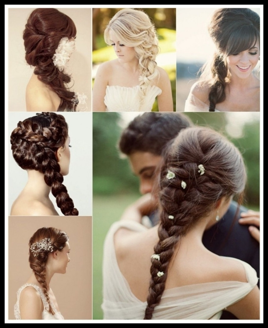 Most Current Wedding Updos For Long Hair With Braids With Regard To Shocking Wedding Braids For Long Hair Braided Hairstyles Pic Of (View 4 of 15)