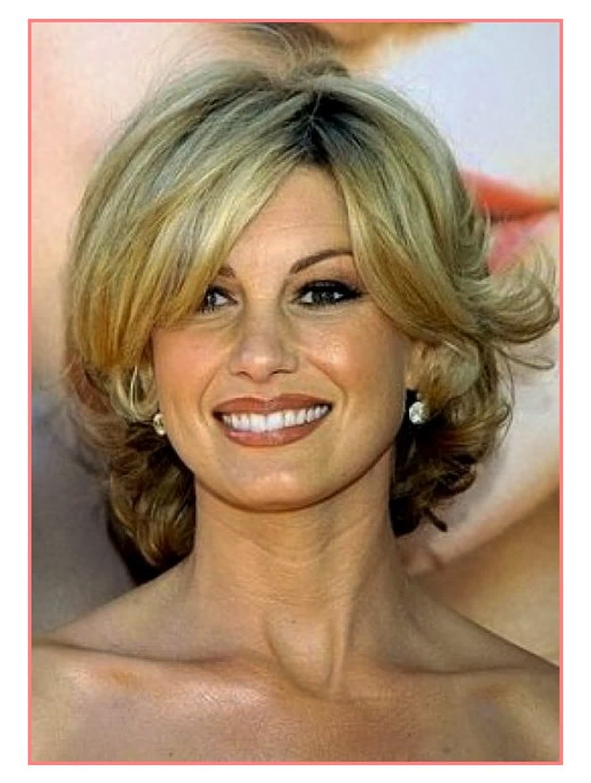 Most Flattering Hair Length Over Best Short Hairstyles For Round With Well Known Wedding Hairstyles For Women Over  (View 10 of 15)