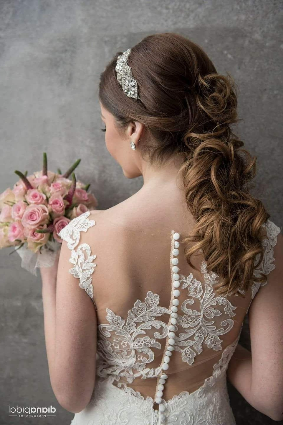 Most Popular Glamorous Wedding Hairstyles For Long Hair With Regard To 60 Glamorous Wedding Hairstyles For Long Hair To Look Like A Goddess (View 10 of 15)