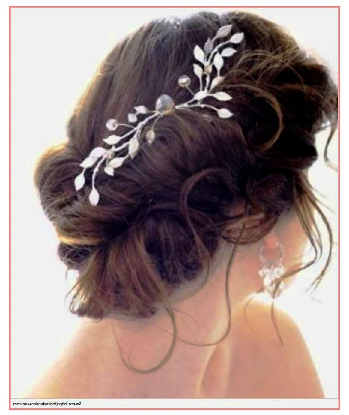 Most Popular Messy Bun Wedding Hairstyles For Amazing Hairstyles Wedding Hairstyles Low Messy Bun – Best (View 2 of 15)