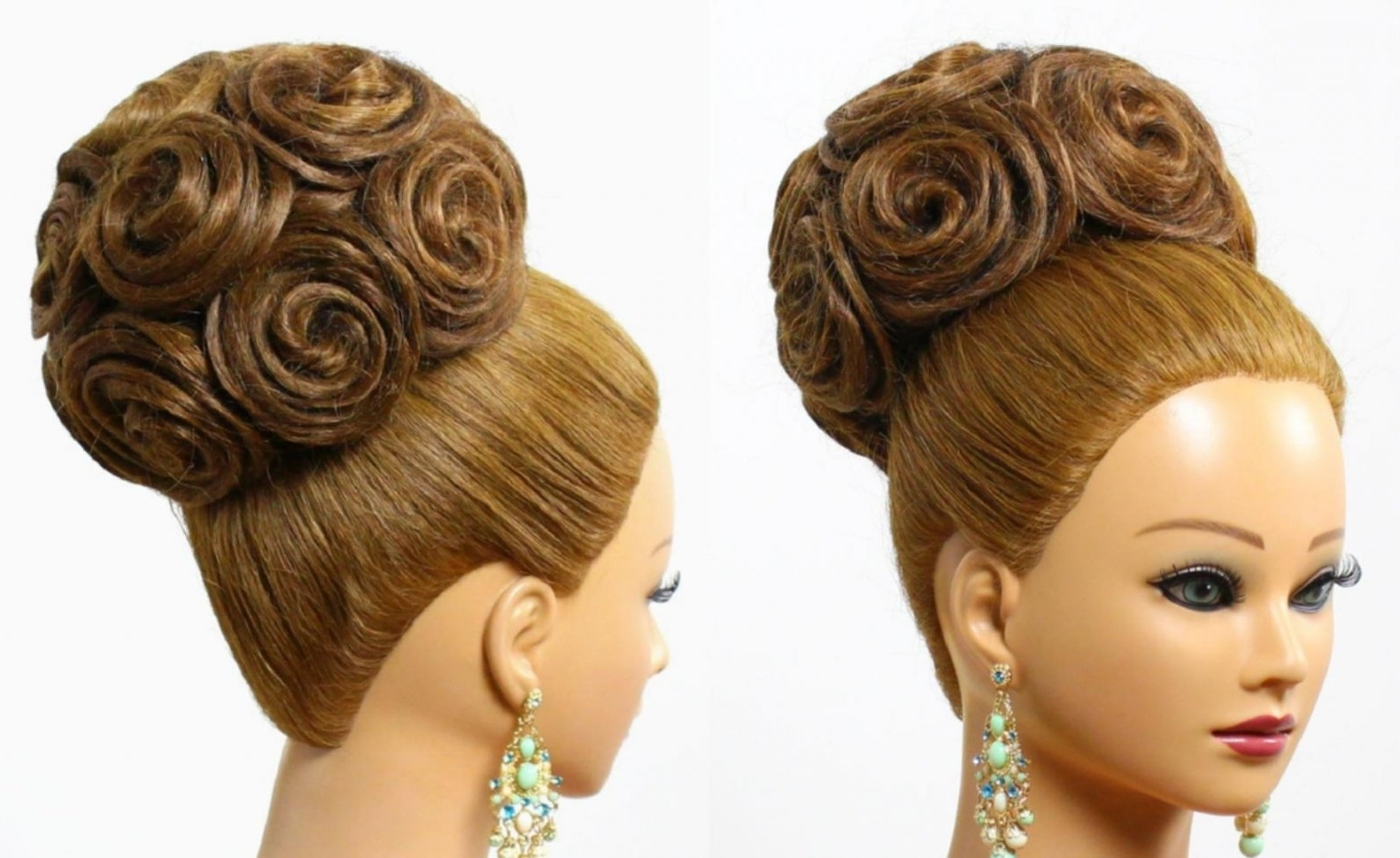Most Popular Wedding Easy Hairstyles For Medium Hair With Regard To Cute Easy Hairstyles Medium Hair Medium Hair Updos For Weddings (View 11 of 15)