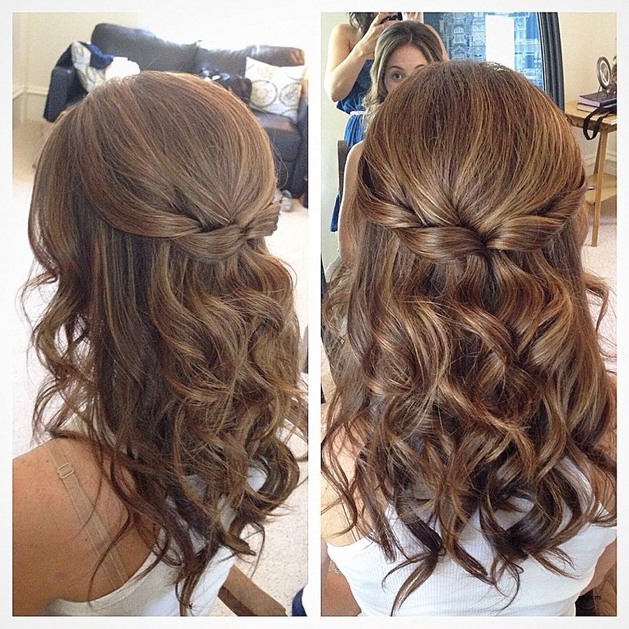 Most Popular Wedding Hairstyles For Medium Length Wavy Hair In Curly Hairstyles (View 5 of 15)