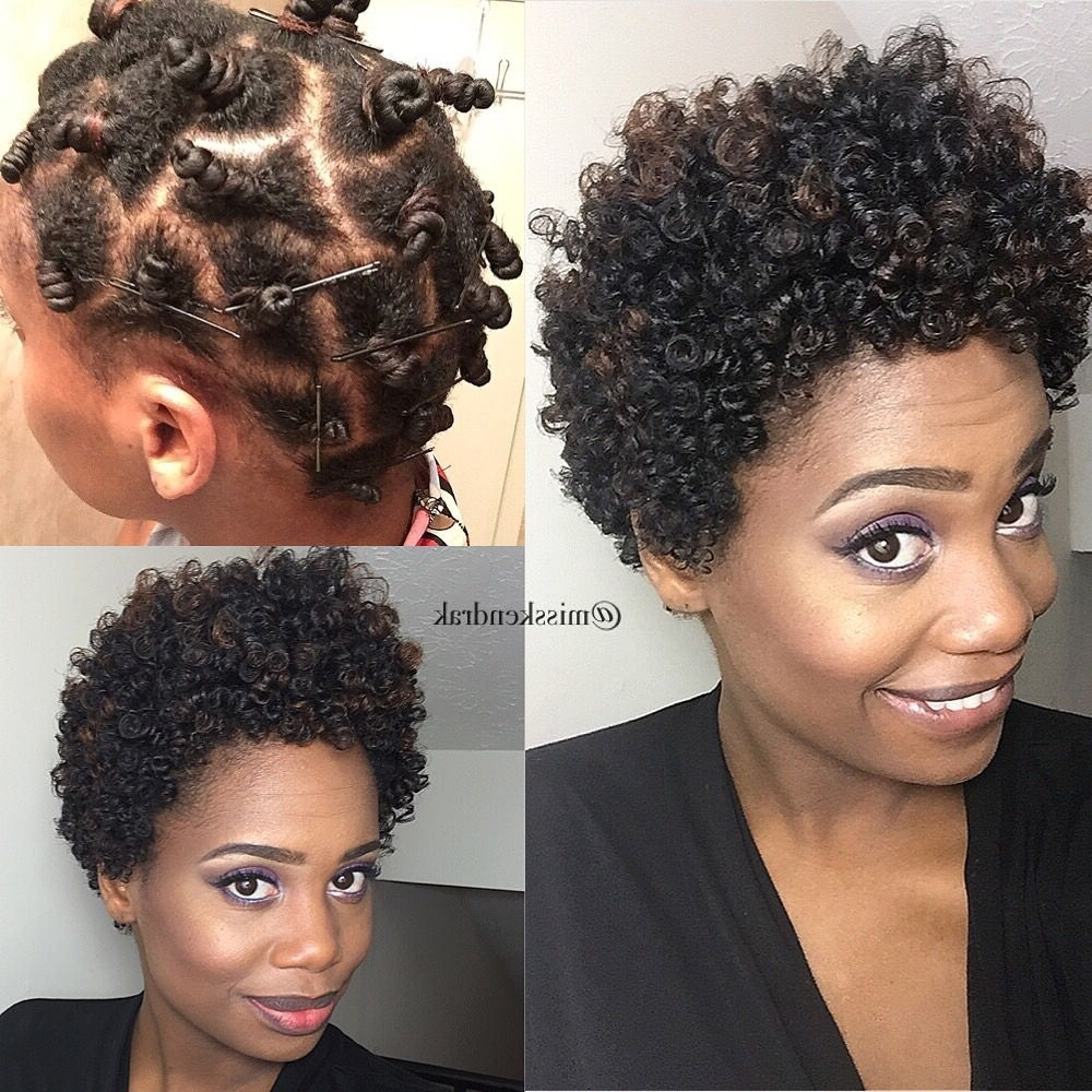 Most Popular Wedding Hairstyles For Short Afro Hair Inside Bantu Knot Out On Natural Hair #misskenk #misskendrak (View 8 of 15)