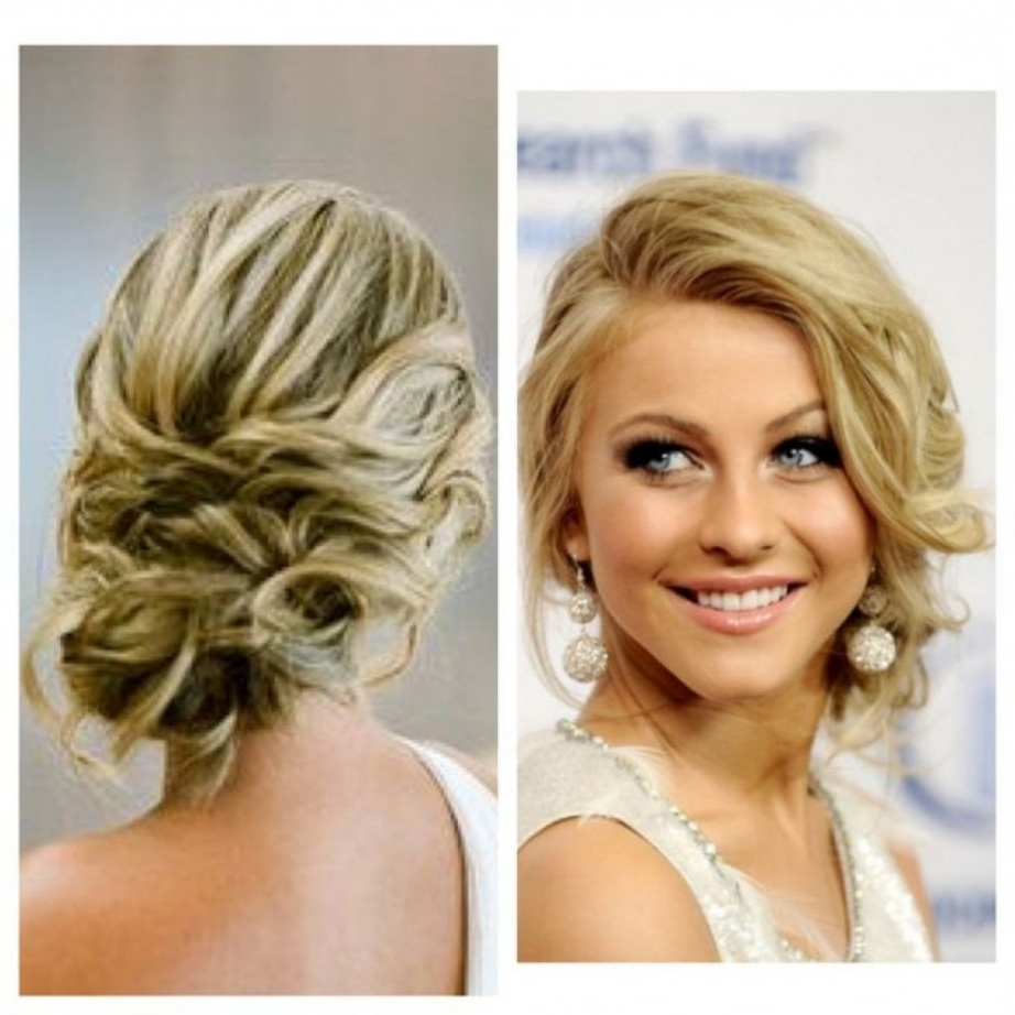 Photo Gallery Of Wedding Hairstyles For Short Thin Hair