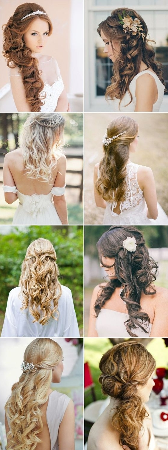 Most Popular Wedding Hairstyles With Ombre Throughout Bridal Wedding Hairstyles For Long Hair That Will Inspire (View 8 of 15)