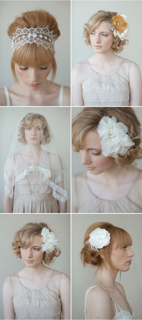 Most Popular Wedding Hairstyles Without Veil With 137 Best Veil Alternatives Images On Pinterest (View 7 of 15)
