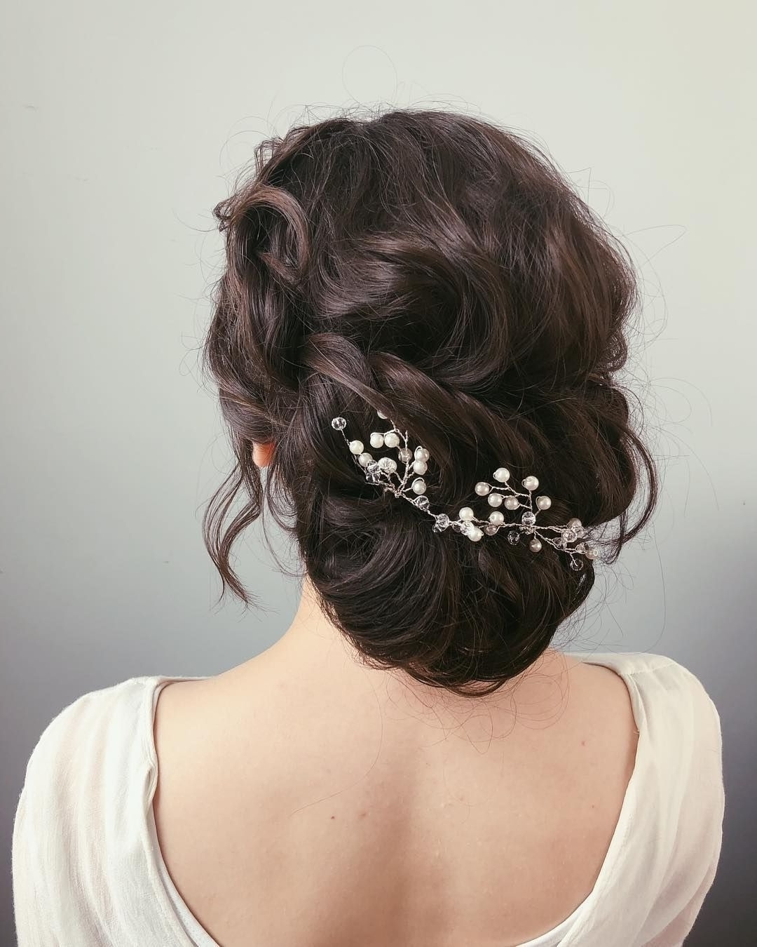 Most Recent Chignon Wedding Hairstyles Intended For 79 Beautiful Bridal Updos Wedding Hairstyles For A Romantic Bridal (View 10 of 15)