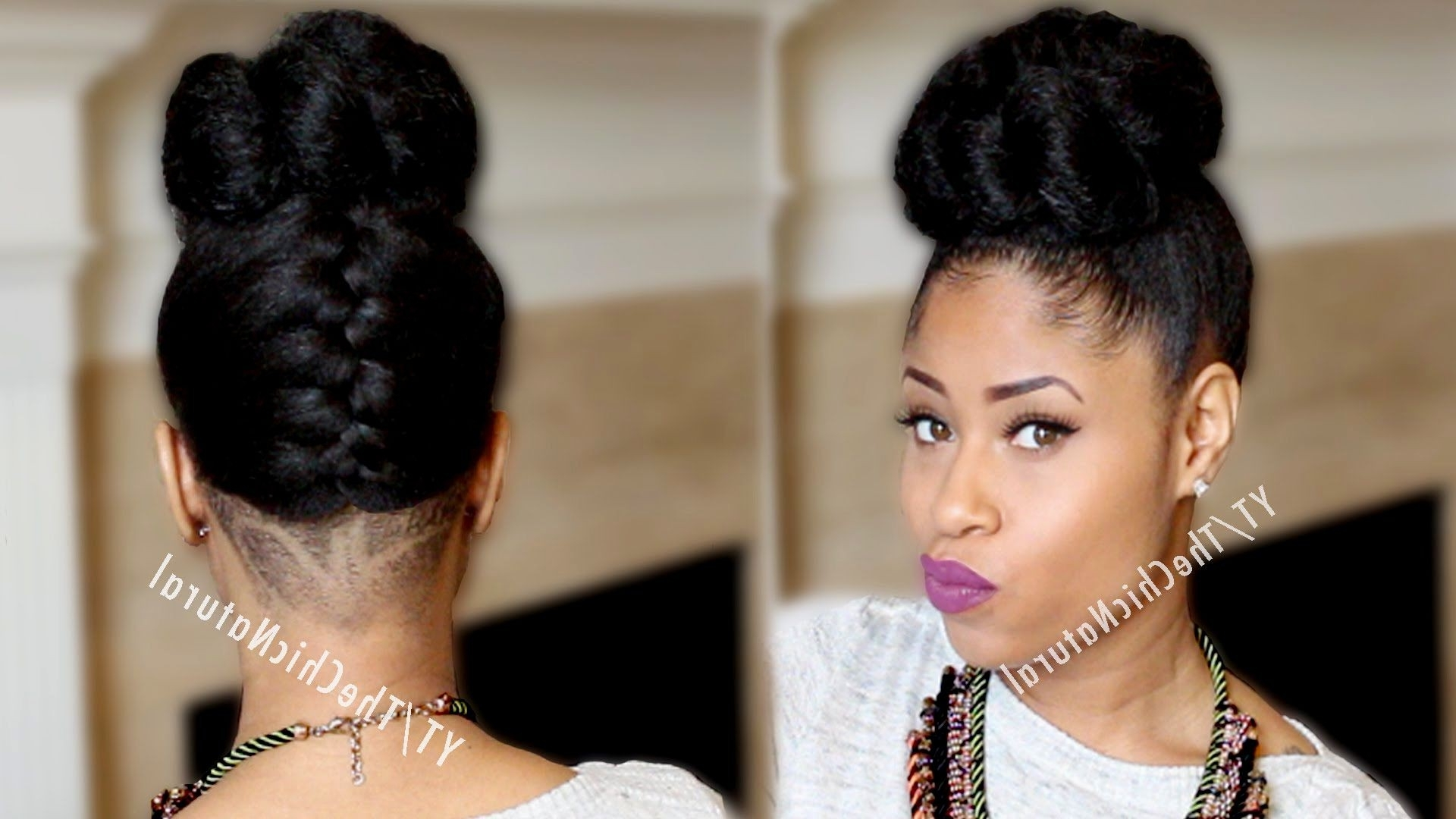 Photo Gallery Of Updos African American Wedding Hairstyles Viewing