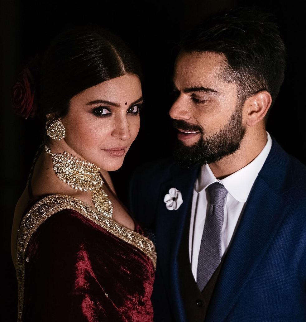 Most Recent Wedding Engagement Hairstyles Within Virat Kohli Anushka Sharma Wedding: All Photos & Videos!!! (View 14 of 15)