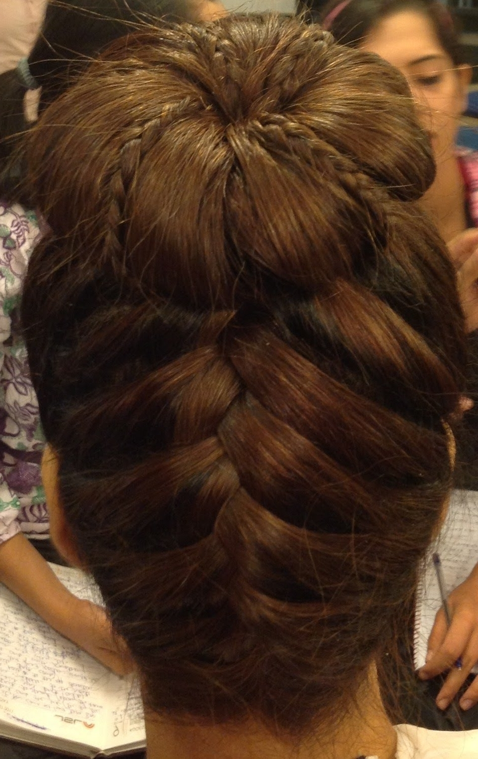 Most Recent Wedding Hairstyles By Estherkinder Throughout Hairstylesestherkinder (braided Updo) – Youtube (View 2 of 15)