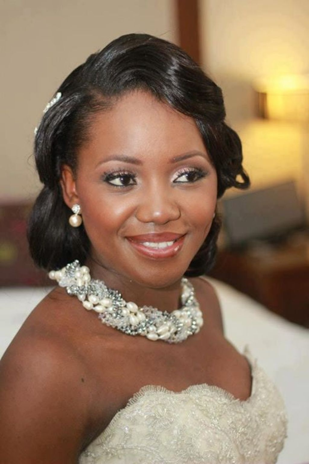 Most Recent Wedding Hairstyles For Black Woman Intended For Black Women Wedding Hairstyle 50 Best Wedding Hairstyles For Black (View 7 of 15)