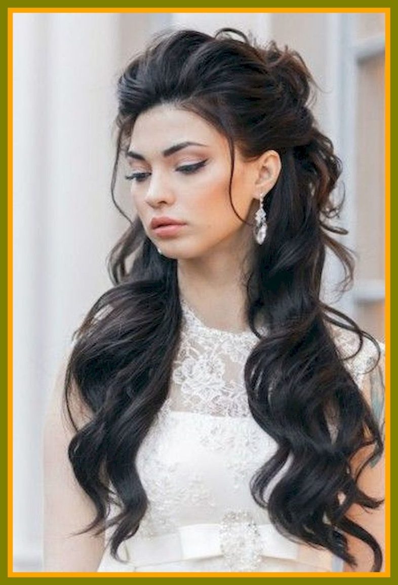 Most Recent Wedding Hairstyles For Long Black Hair With Regard To Stunning Best Hair Hairstyle Ideas And Image For Wedding Long Black (View 11 of 15)