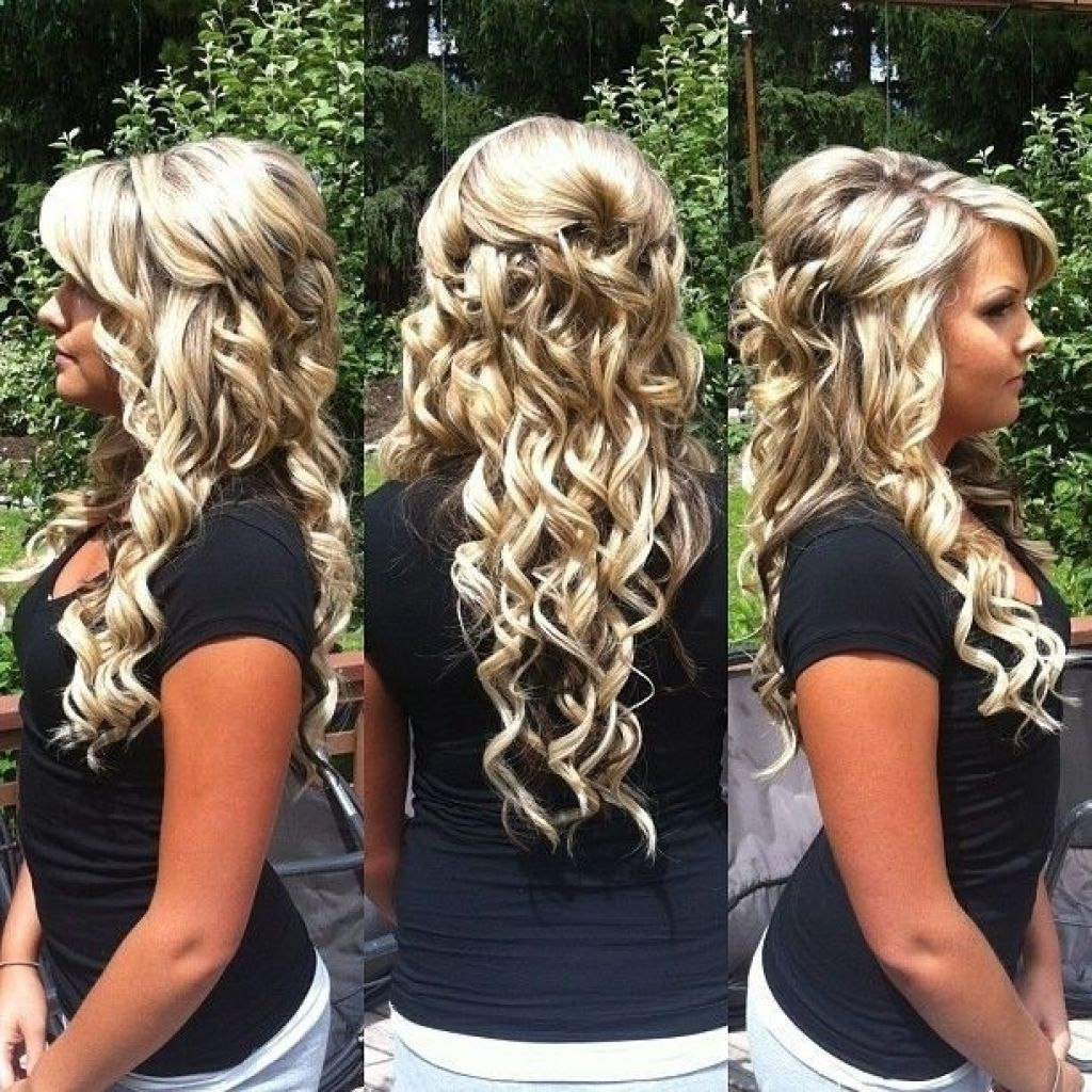 Most Recent Wedding Hairstyles For Long Down Curls Hair For √ 24+ Awesome Wedding Hairstyles For Long Hair Down: Wedding (View 4 of 15)