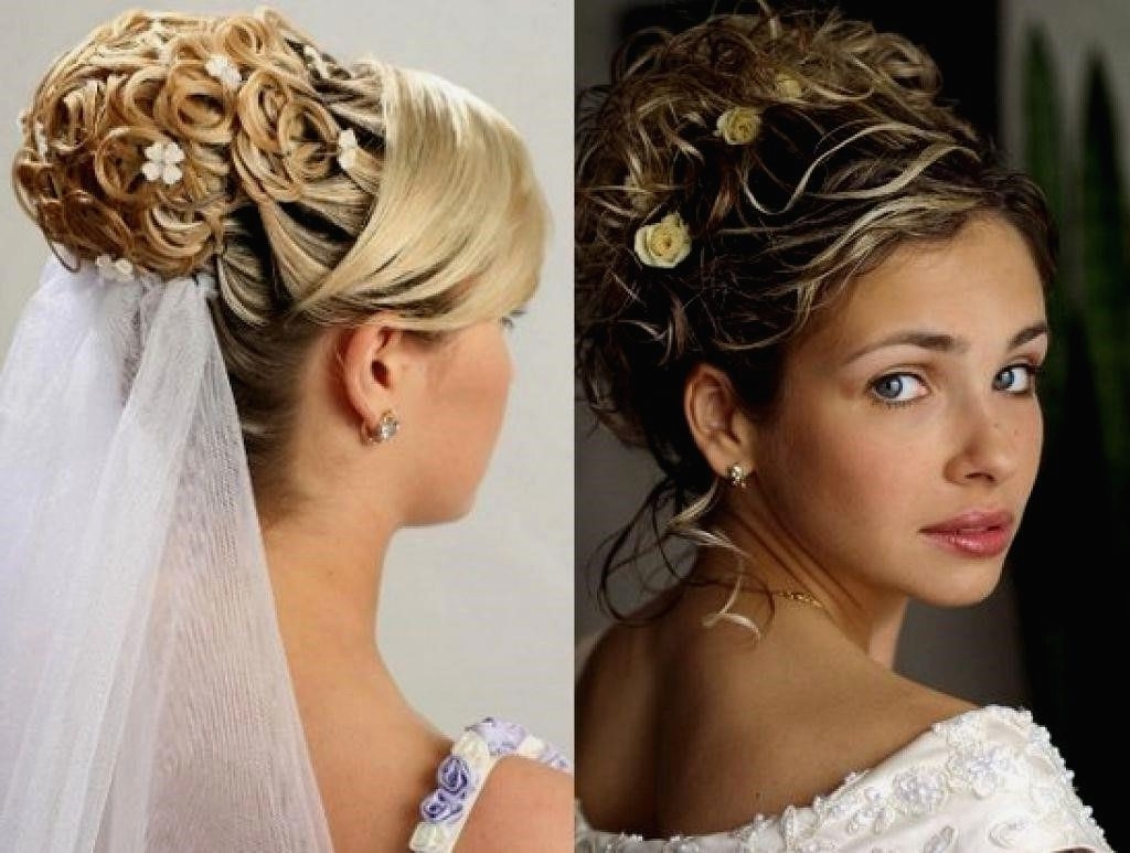 Most Recent Wedding Hairstyles For Long Hair With Veil And Headband Pertaining To Wedding Hairstyles : Wedding Hairstyles For Long Hair With Veil And (View 10 of 15)