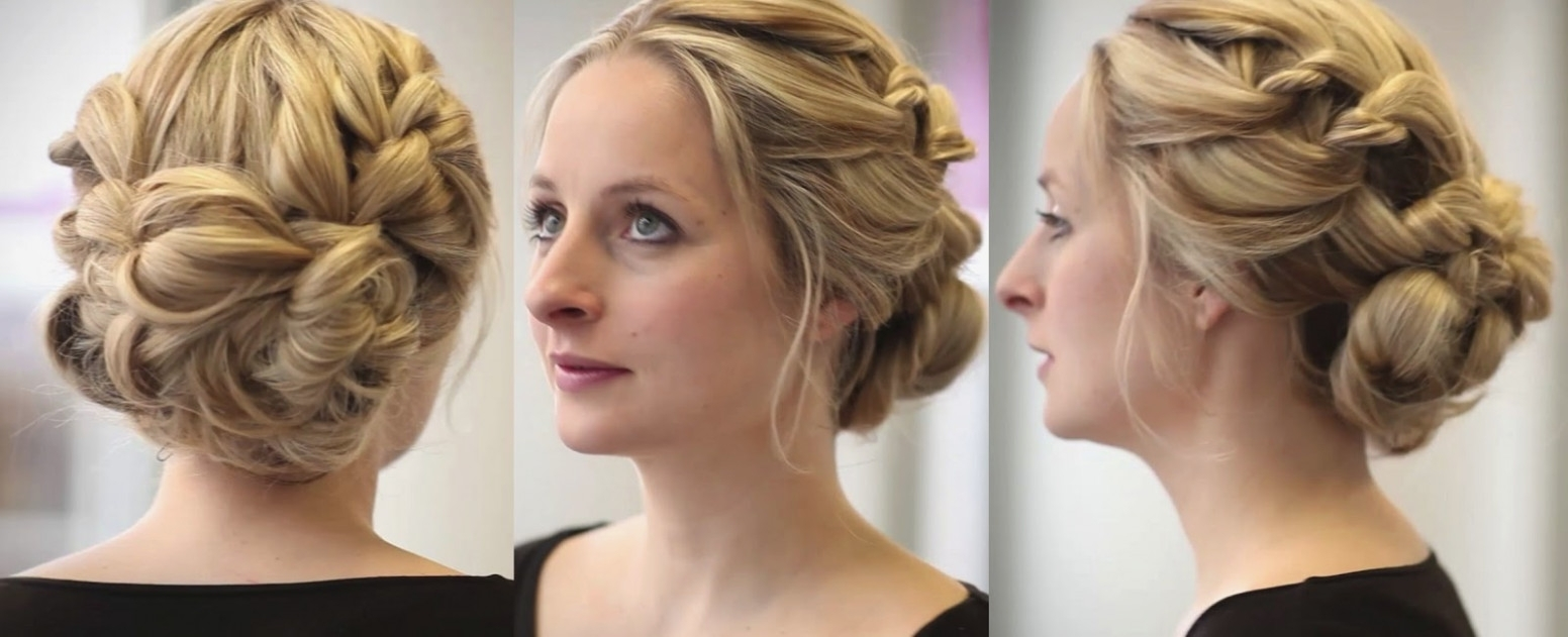 Most Recent Wedding Hairstyles For Medium Hair For Bridesmaids Pertaining To You Should Experience Bridesmaid Hairstyles For Medium Hair (View 8 of 15)