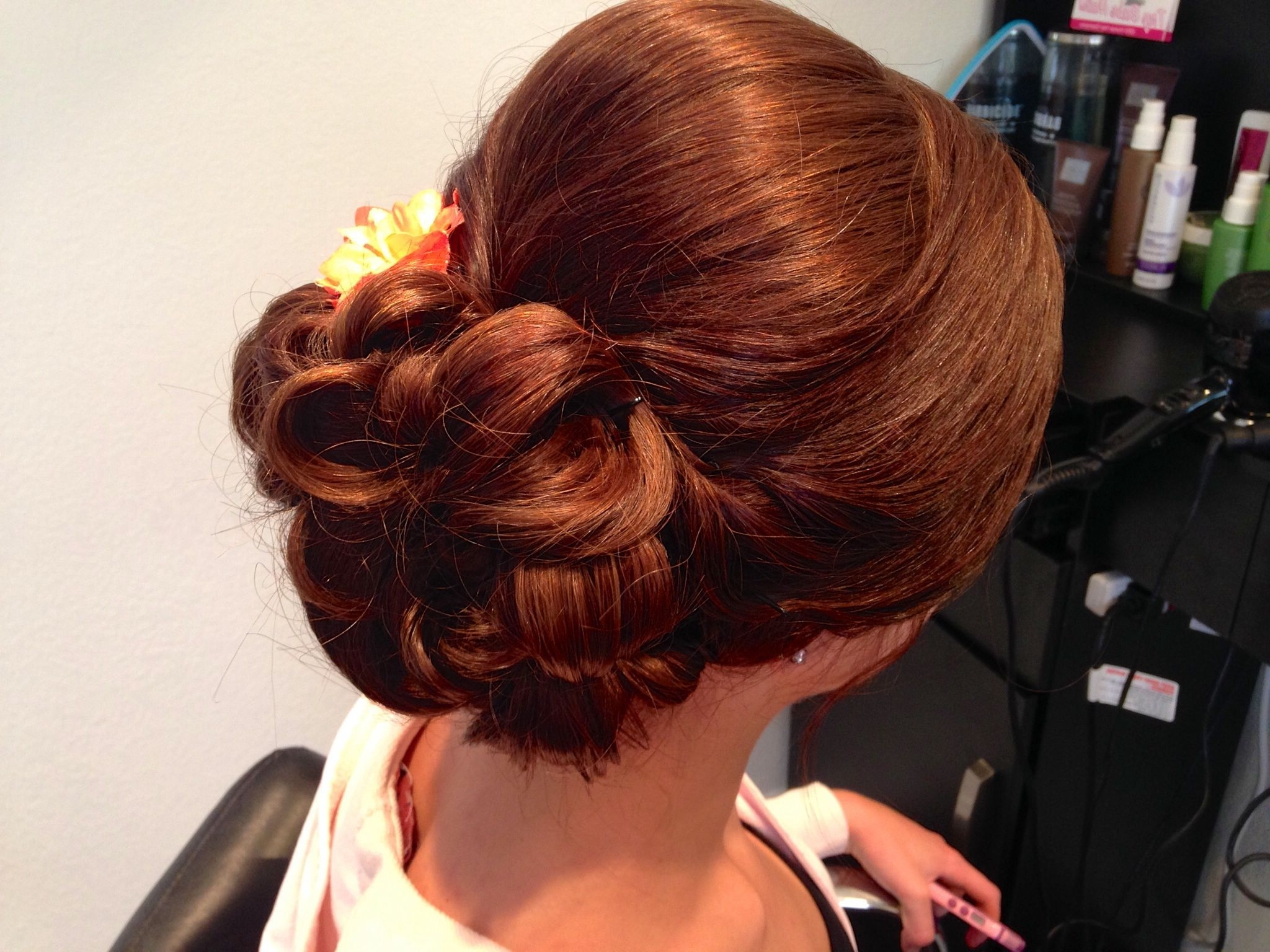 Most Recently Released Junior Wedding Hairstyles In Good Style For Junior Bridesmaids (View 9 of 15)