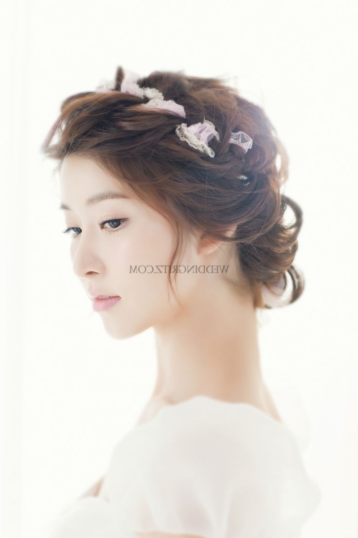 Most Recently Released Korean Wedding Hairstyles Pertaining To 49 Best Korean Bridal Hairstyles Images On Pinterest (View 8 of 15)