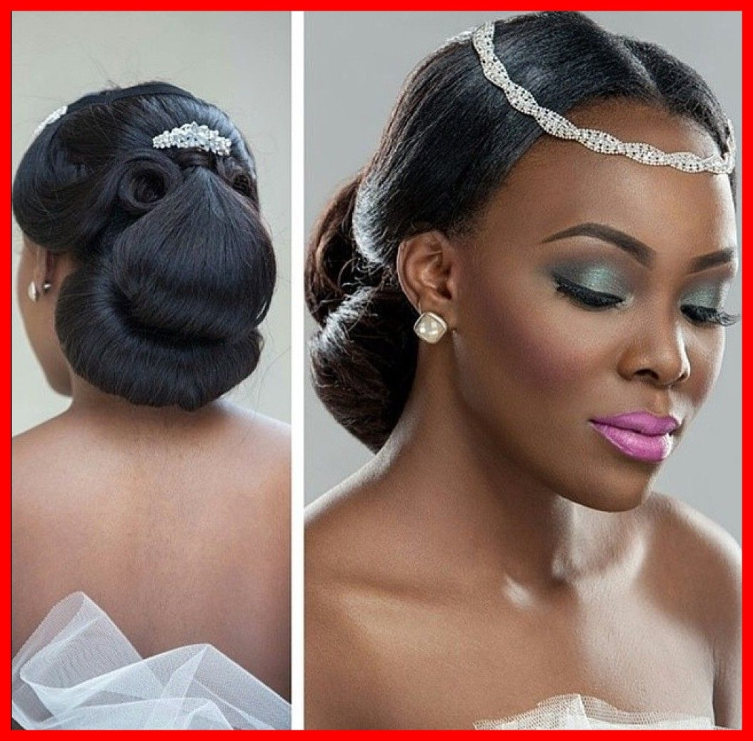 Most Recently Released Nigerian Wedding Hairstyles For Bridesmaids In Unbelievable African Canadian Wedding Hair Inspiration Gorgeous (View 14 of 15)